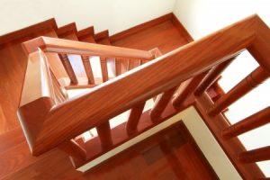 traplift trap met bochten kwartdraai